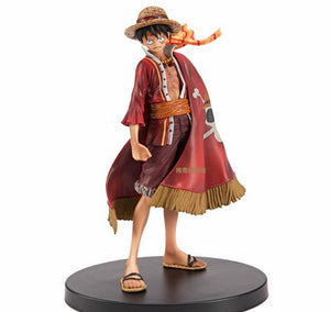 One Piece Luffy Action Figure 17 cm