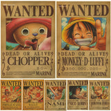 One Piece Posters (21 types)