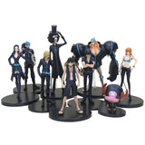 One Piece Action Figures 9-22 cm, 3 pcs/set