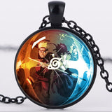 Naruto Glass Dome Necklace (3 types)