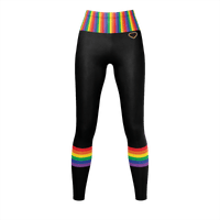Rainbow Heart - Leggings