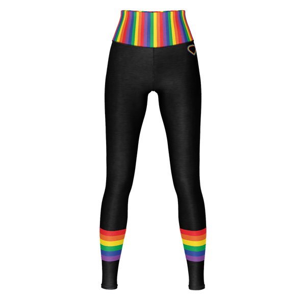 Rainbow Heart - Yoga Pant