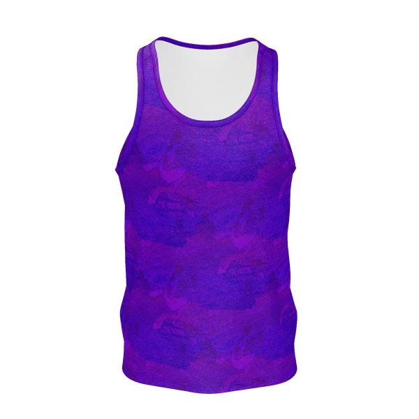 Lord Charlie (Electric Blue Variant) - Men's Tank