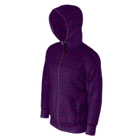 Protection (Royal) - Lightweight Zipper Hoodie
