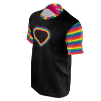 Rainbow Heart - Men's Tee