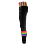 Rainbow Heart - Recycled Poly Leggings