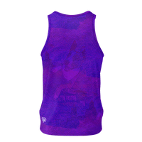 Lord Charlie (Electric Blue) - Men's Tank
