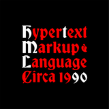 Hypertext Markup Language (Red) - Men's Tee