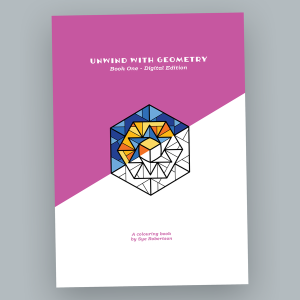 Unwind with Geometry Book One - Digital Edition