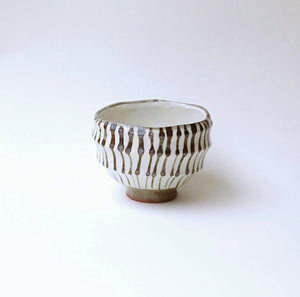 Japan series : Brown and white bowl