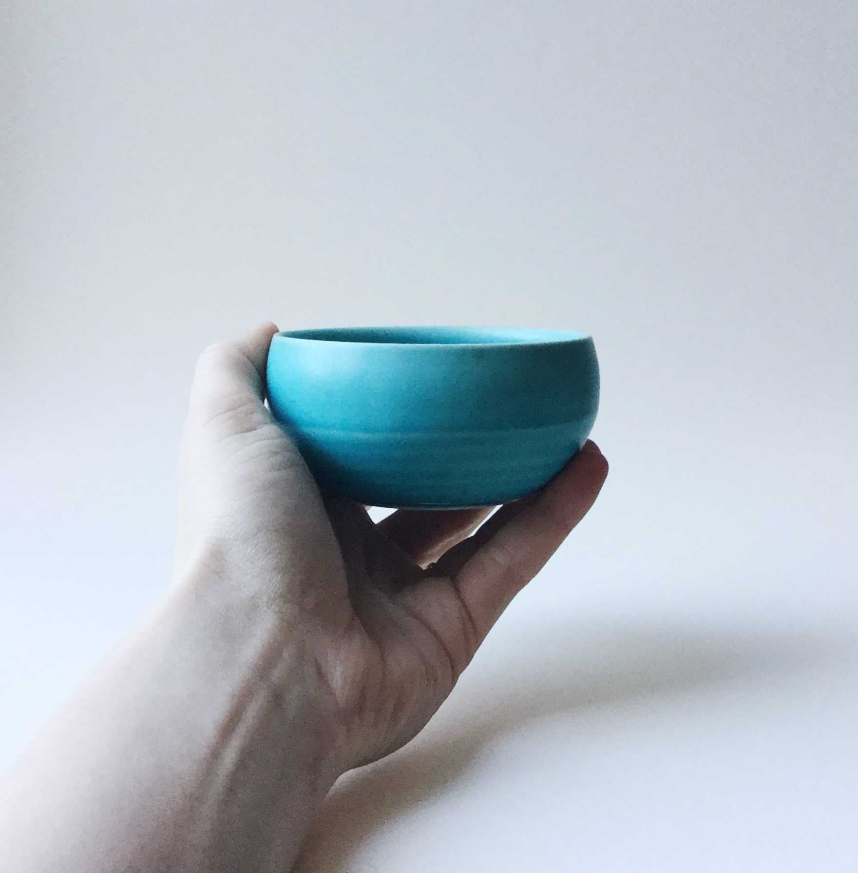 Japan series : Little turquoise bowl