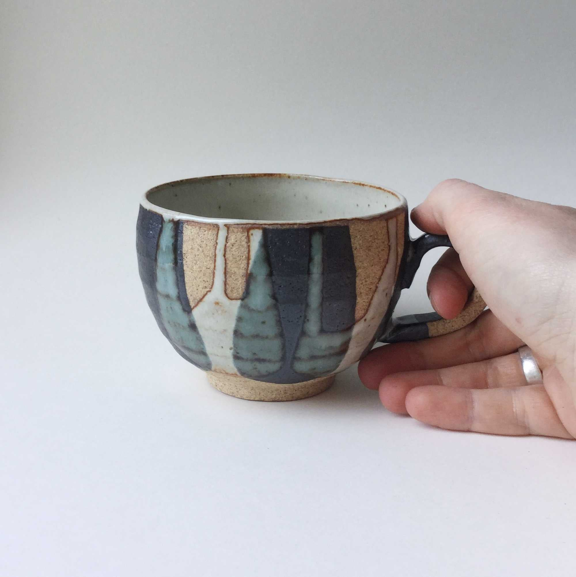 "Japan series : Handmade ""raw"" cup"