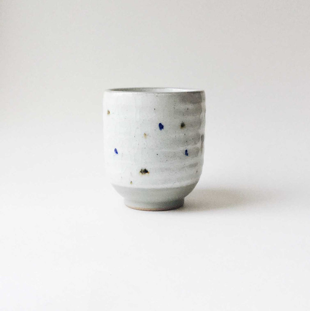 PRE-ORDER Japan series : Big white dotted cup