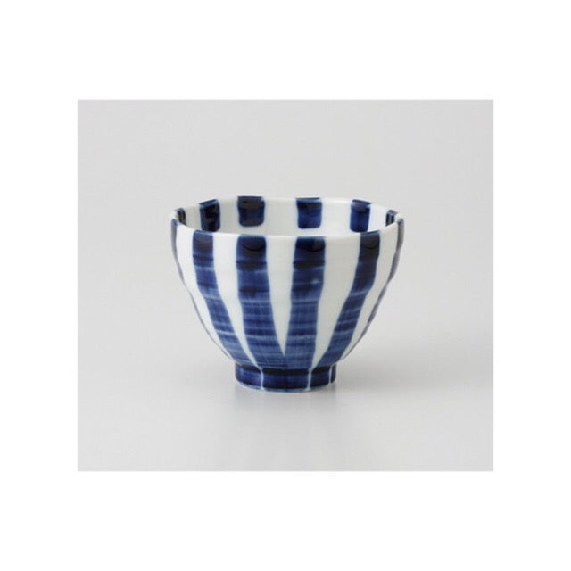 Japan series : Blue striped bowl