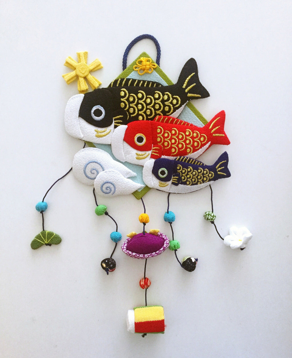 Handmade ornament Japan : Fish In The Sun