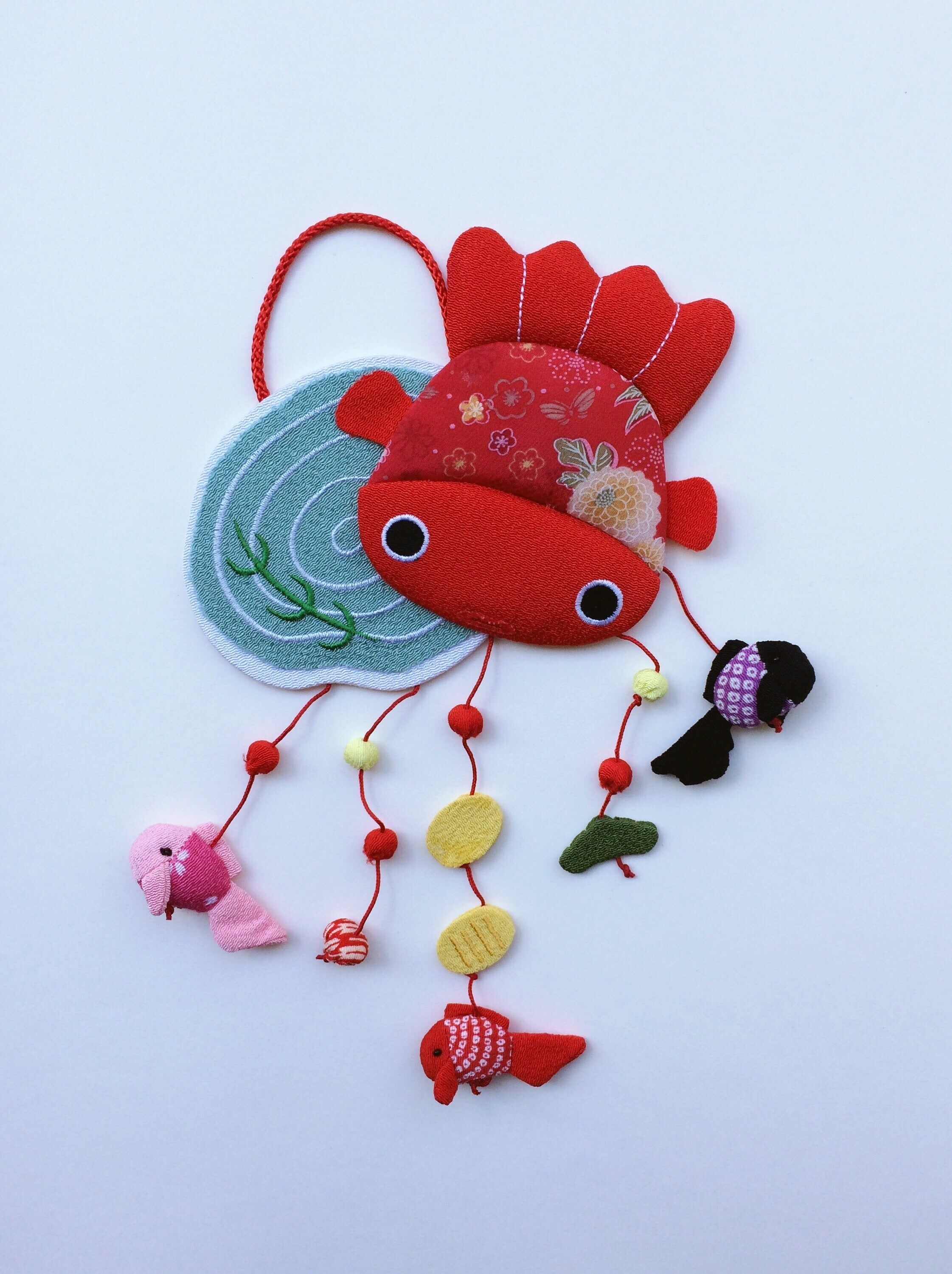 Handmade ornament Japan : Goldfish