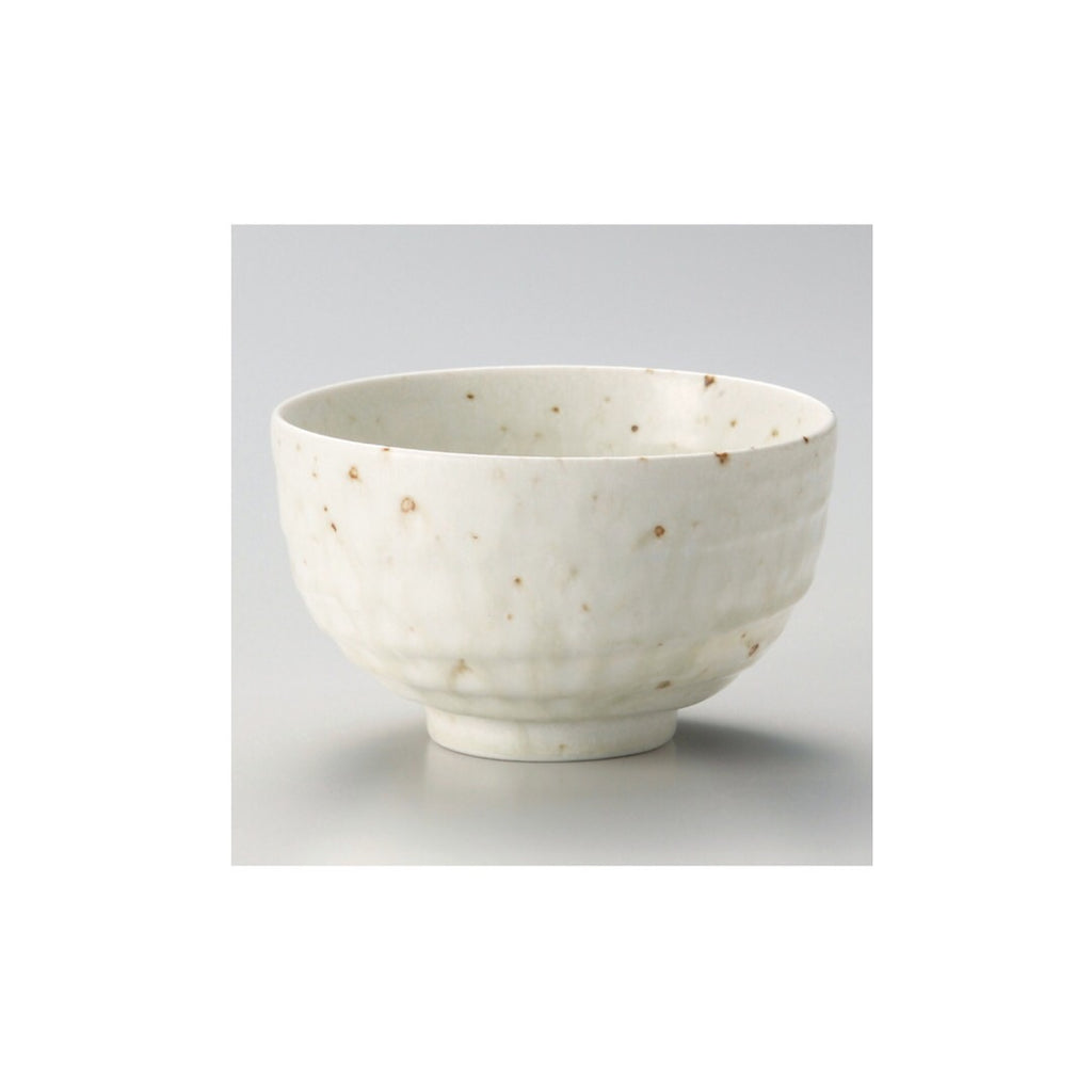 Japan series : Big speckled white bowl