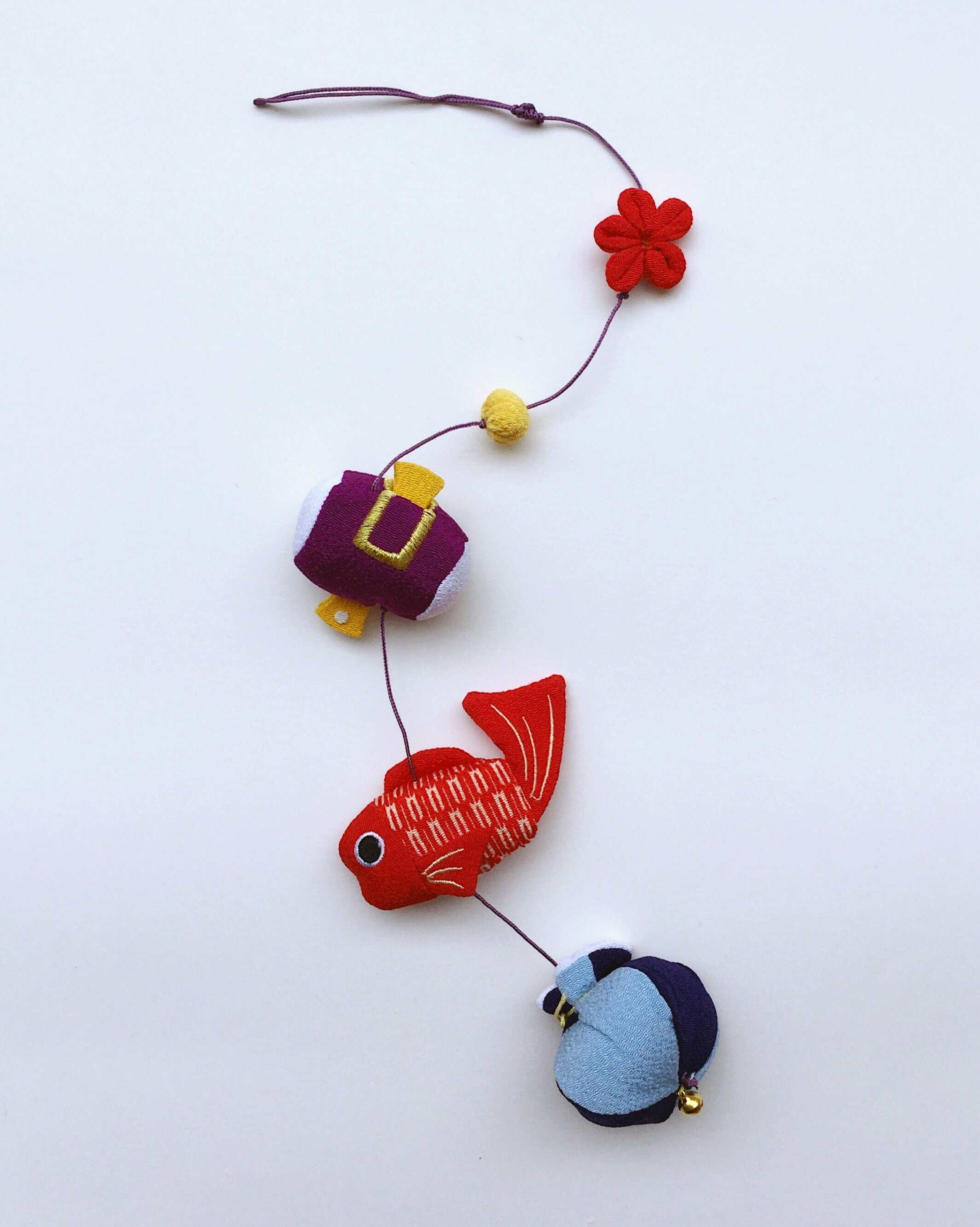 "Japan series : Handmade ornament Japan, ""Goldfish"""
