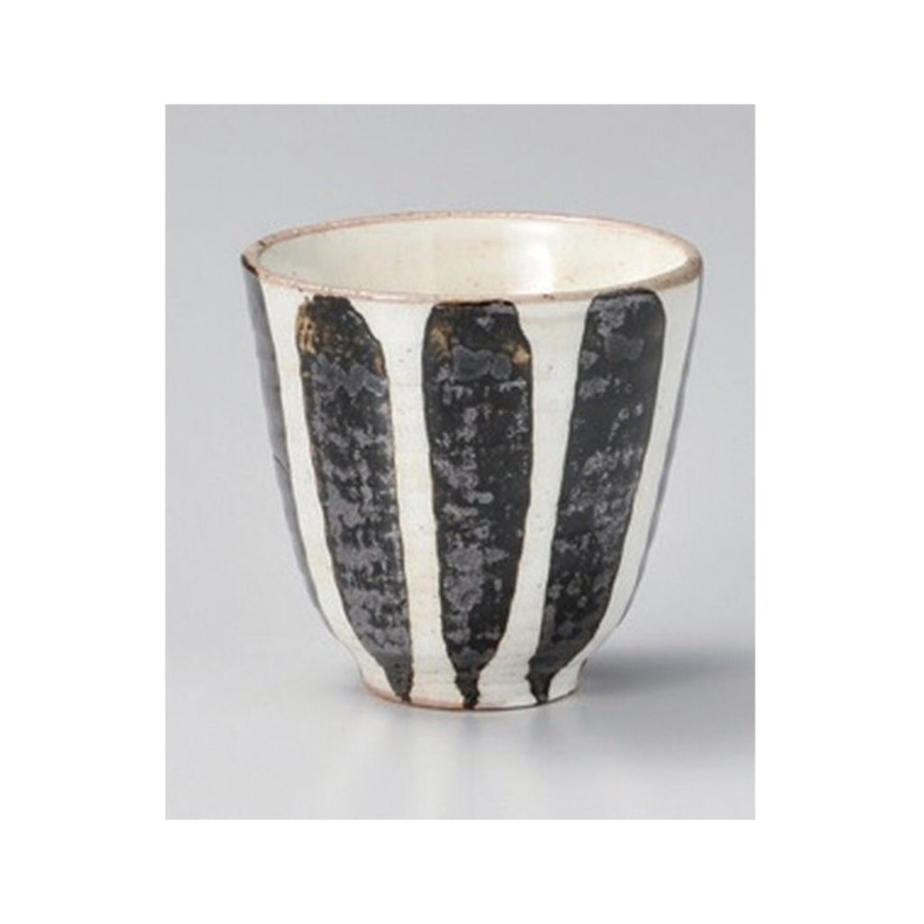 Japan series : Black and white striped long cup