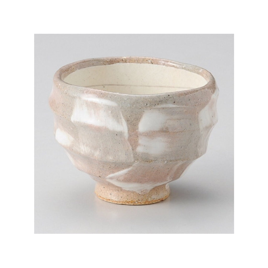 Japan series : Greige rifled bowl/cup