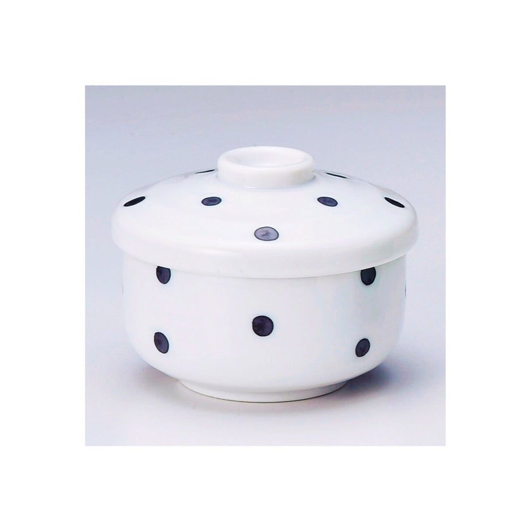 Japan series : White bonbonniere with black dots