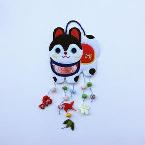 Handmade ornament Japan : Happy Dog
