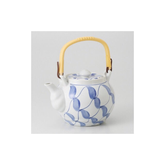 Japan series : Blue streak teapot