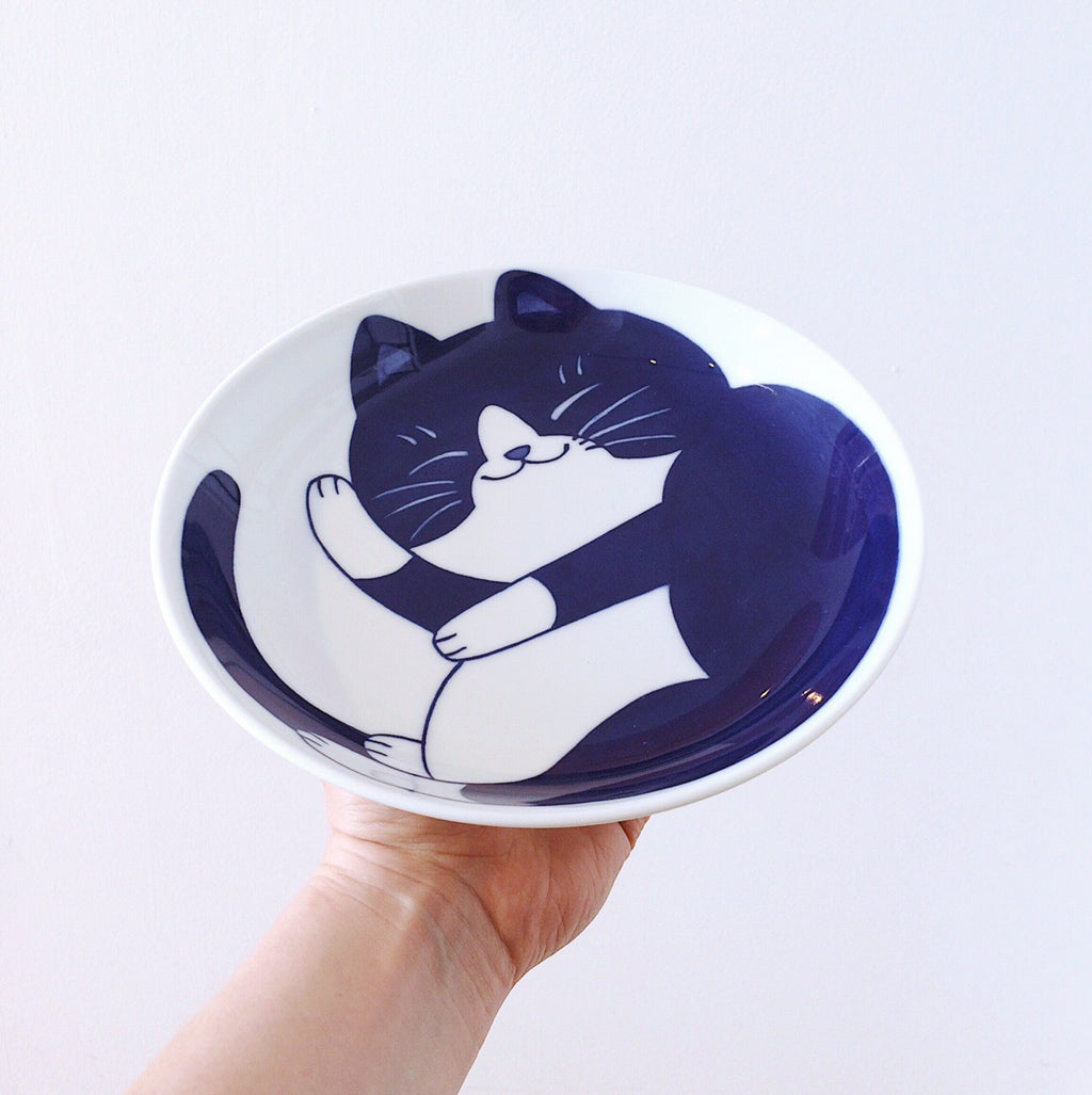 Japan series : Fat Cat plate