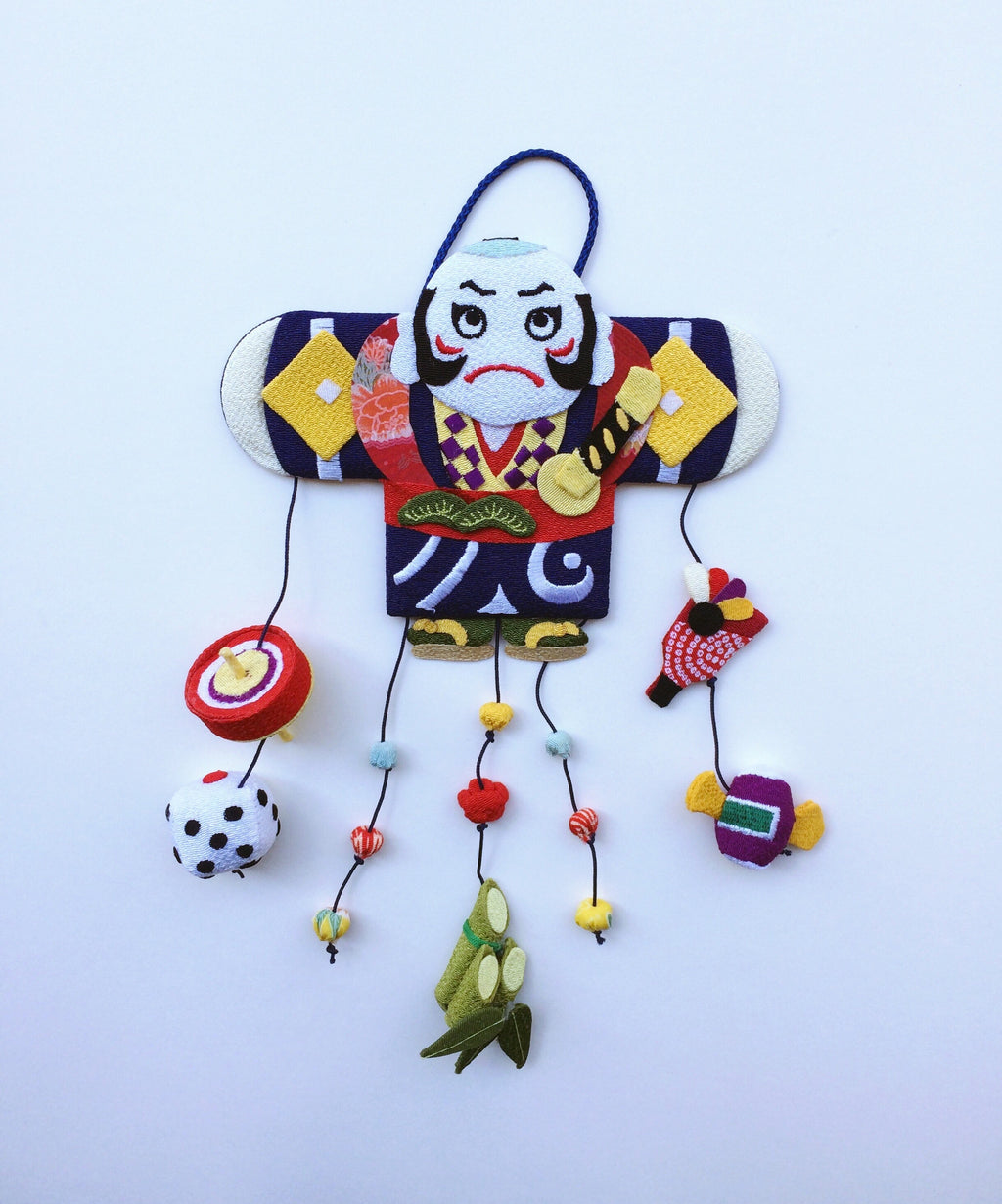 Handmade ornament Japan : Angry guy