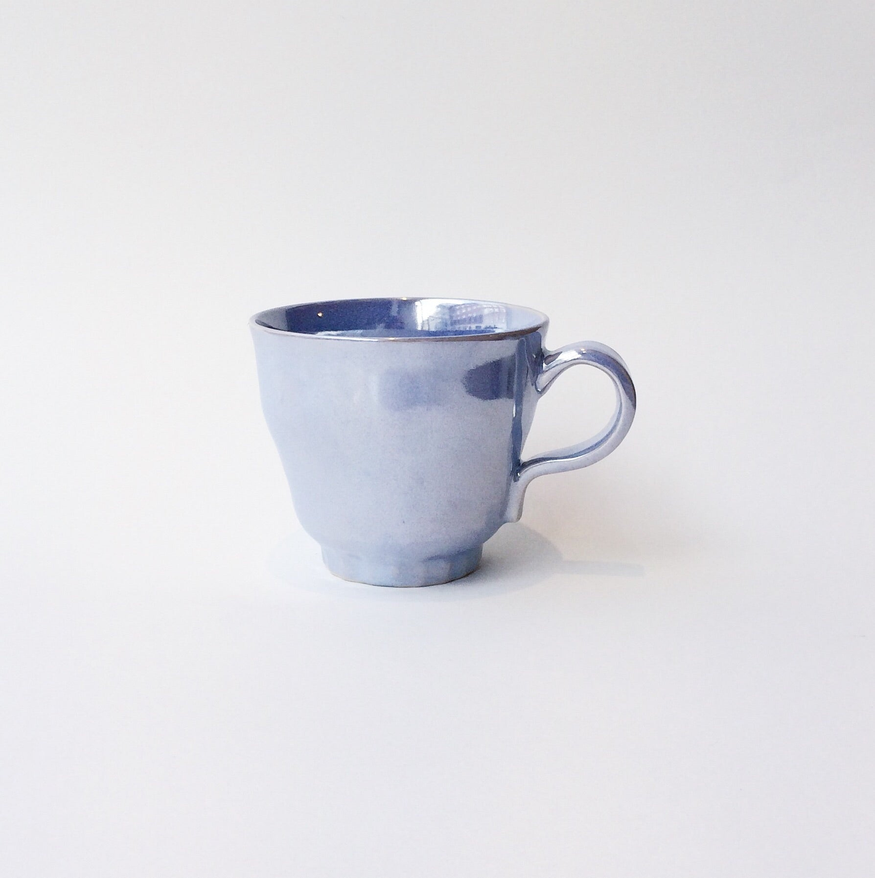 Japan series : Purple shiny glazed mug
