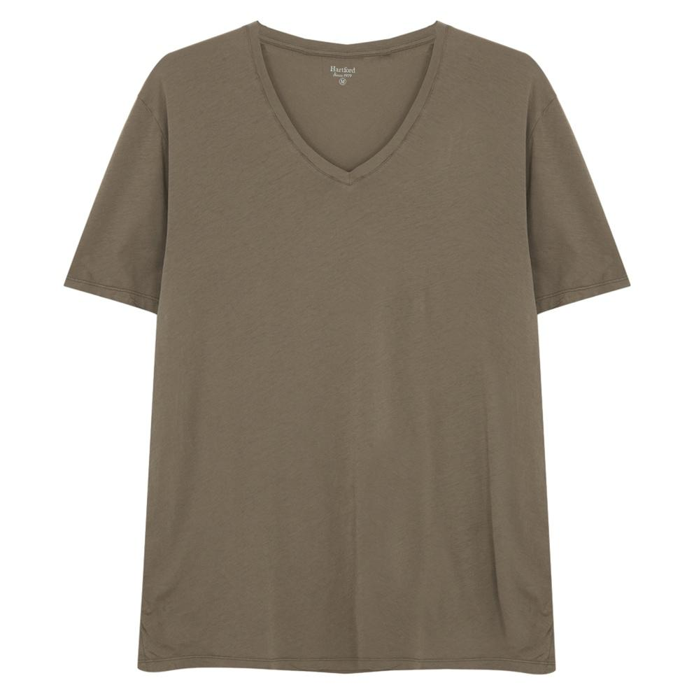 LIGHT VEE T-SHIRT KHAKI