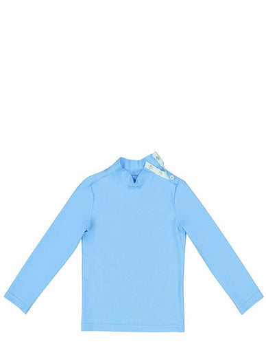 TURBOT SWIM T-SHIRT BLUE