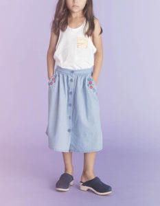 BONNIE DENIM SKIRT
