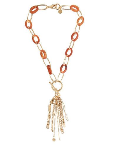 ESCALE CHARMS NECKLACE