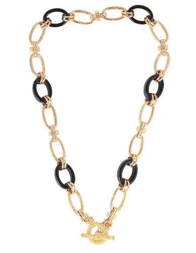 ESCAL LARGE BLACK NECKLACE