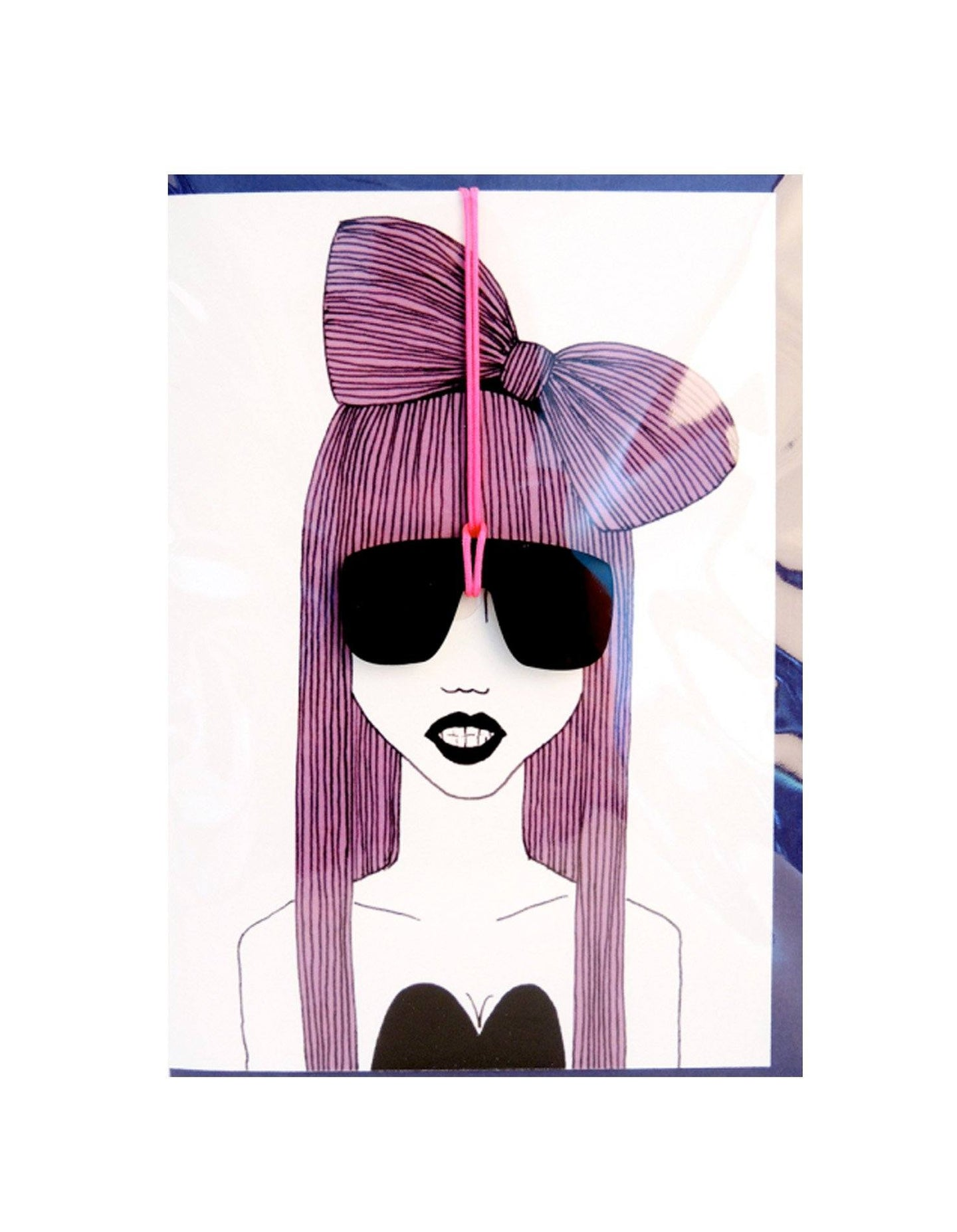 GAGA GREETING CARD