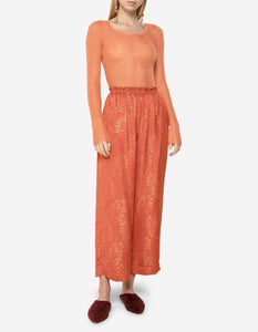 GIPSY GOLD TERRACOTTA TROUSERS