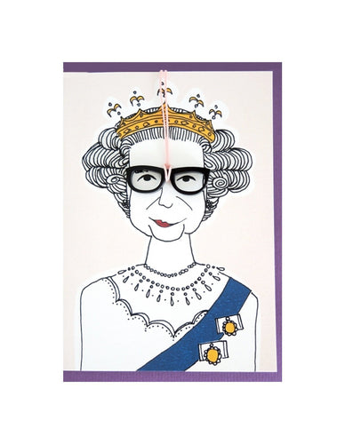 QUEEN GREETING CARD