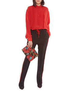 RACTAL RED BLOUSE
