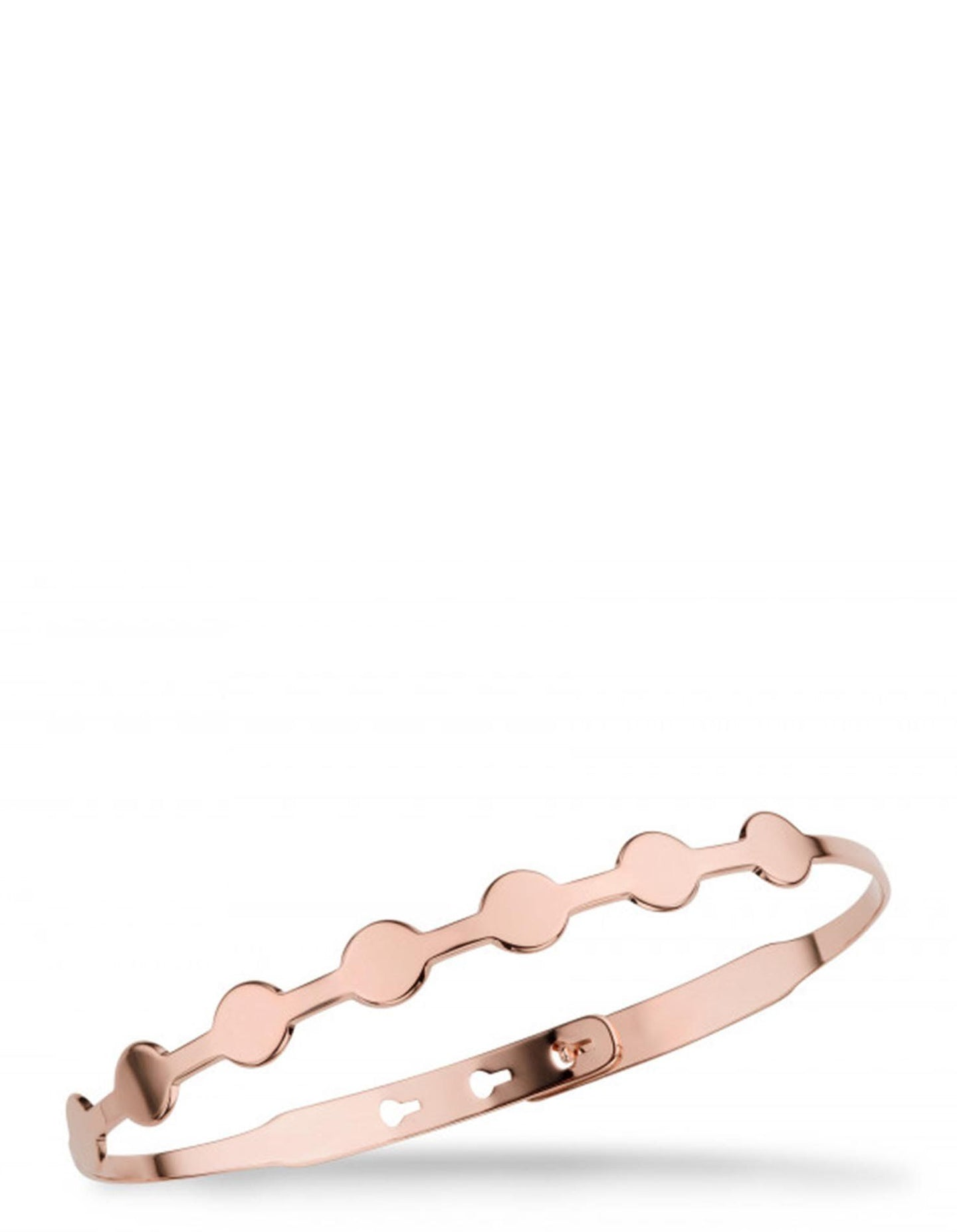 CIRCLES ROSE GOLD BRACELET