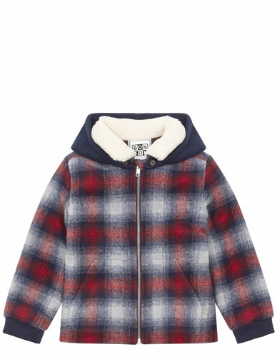 STRIKE CHECK JACKET