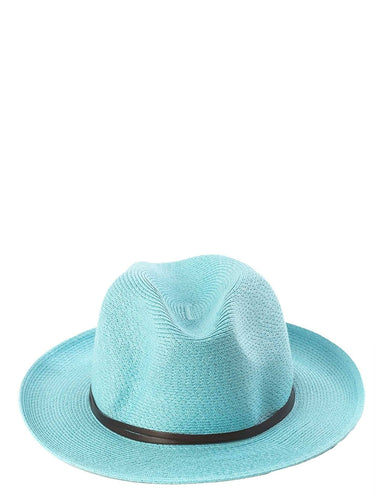 PAPER TURQUOISE HAT