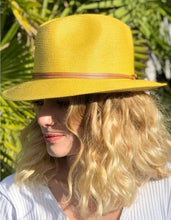 PAPER YELLOW HAT