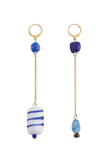 MURANO GLASSDROP EARRINGS