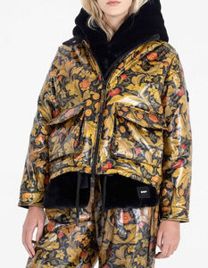 AUTOMN LEAFS RAINCOAT JACKET