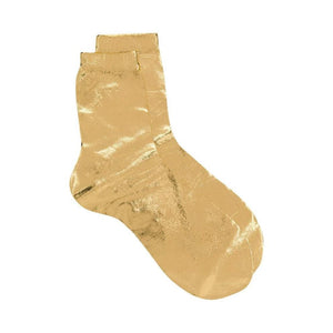 GOLD SILK SOCKS
