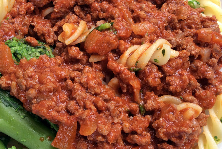 Minced meat pasta