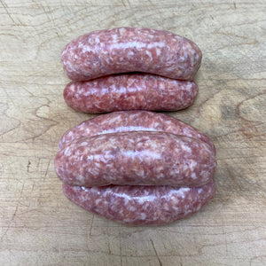 Gin & Ginger Sausages