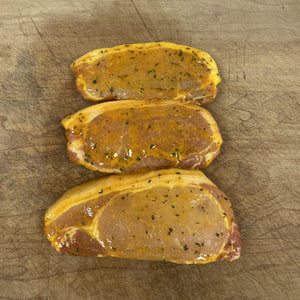 Pork Sirloin in Honey & Mustard