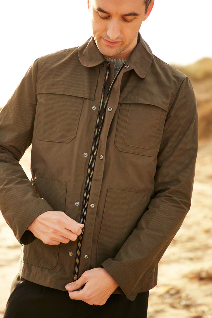 Fred Jacket in Khaki